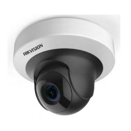Hikvision DS-2CD2F52F-IS IP PT Dome kamera, beltéri, 5MP, 4mm , IR10m, D&N(ICR), DWDR, 3DNR, PoE, SD, I/O, audio