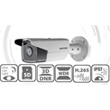 Hikvision DS-2CD2T35FWD-I8 IP Bulett kamera, kültéri, 3MP, 4mm, H265+, IP67, EXIR80m, D&N(ICR), 3DNR, WDR, SD, PoE
