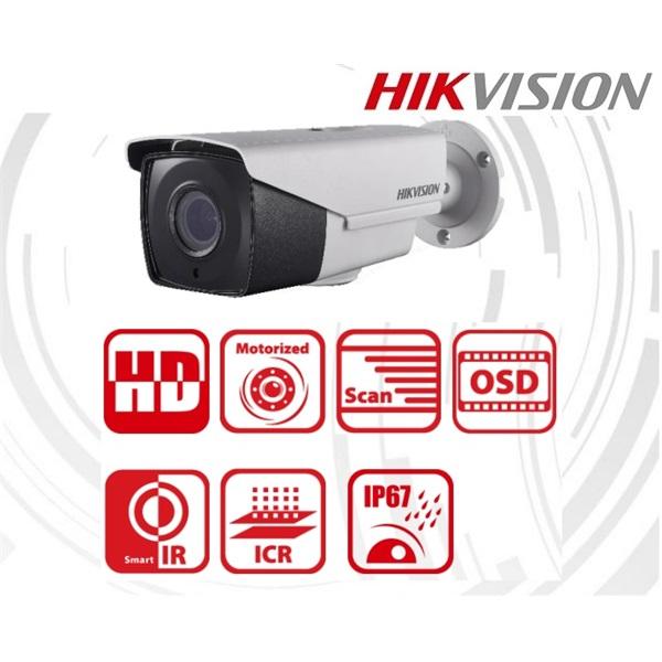 Hikvision DS-2CE16D8T-IT3ZE Bullet HD-TVI kamera, kültéri, 2MP, 2,8-12mm, EXIR40m, ICR, IP67, 3DNR,
