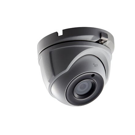 Hikvision DS-2CE56D0T-IT3 Dome HD-TVI kamera, kültéri, 1080P, 3,6mm, EXIR40m, IP66, DNR, szürke
