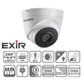 Hikvision DS-2CE56D1T-IT3 Dome HD-TVI kamera, kültéri, 1080P, 12mm, EXIR40m, IP66, D&N(ICR), DNR, BLC