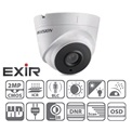 Hikvision DS-2CE56D1T-IT3 Dome HD-TVI kamera, kültéri, 1080P, 6mm, EXIR40m, IP66, D&N(ICR), DNR, BLC
