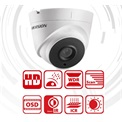 Hikvision DS-2CE56F7T-IT3 Dome HD-TVI kamera, kültéri, 3MP, 2,8mm, EXIR40m, D&N(ICR), IP66, DNR, BLC, WDR