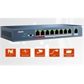 Hikvision Switch PoE - DS-3E0109P-E (8 port 100Mbps, 123W, 1 uplink port, L2)