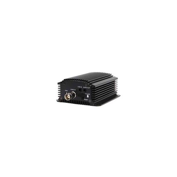 Hikvision DS-6701HFI Encoder, 1 csatorna, 4CIF(704x576), H264, audio, SD, RS-485, PoE