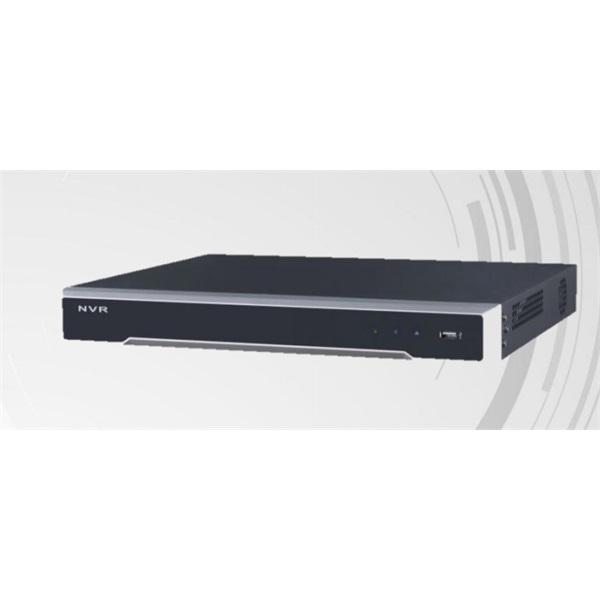 Hikvision DS-7608NI-I2 NVR, 8 csatorna, 80Mbps rögzítés, H.265, HDMI+VGA, 2xUSB, 2x Sata, I/O