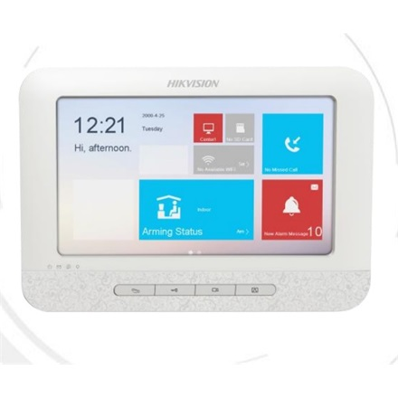 "Hikvision DS-KH6310-WL IP video kaputelefon beltéri egység, 7"" touch screen, 2/0 I/O, wifi"