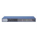 Hikvision Switch PoE - DS-3E0526P-E (24 port 1000Mbps, 400W, 1x RJ45, 1xSFP)
