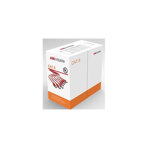 Hikvision UTP fali kábel, Cat6, PVC, AWG23, réz, 305m