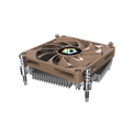 ID-Cooling CPU Cooler - IS-20i (14-23dB; max. 37,03 m3/h; 3pin csatlakozó, 8cm, PWM)