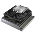 ID-Cooling CPU Cooler - IS-47K (14-33dB; max. 75,26 m3/h; 4pin csatlakozó, 6 db heatpipe, 9cm, PWM)