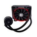 ID-Cooling CPU Water Cooler - FROSTFLOW 120L-R (20-38,2dB; max. 143,56 m3/h; 1x12cm, Piros LED)