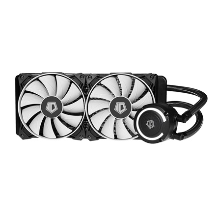 ID-Cooling CPU Water Cooler - FROSTFLOW+ 240 (20-38,2dB; max. 126,57 m3/h; 2x12cm)
