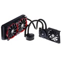 ID-Cooling CPU és GPU Water Cooler - HUNTER DUET (20-38,2dB; max. 143,56 m3/h; 2x12cm)