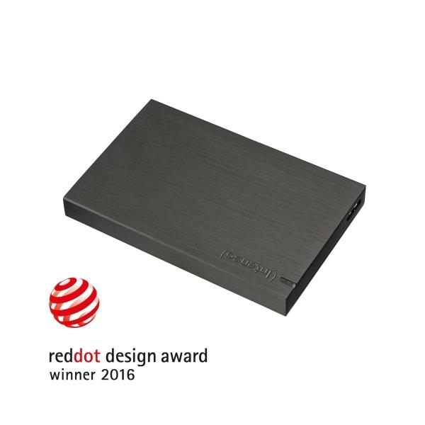 INTENSO Külső HDD 1TB MEMORY BOARD Fekete (USB3.0)