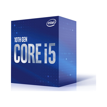 Intel Processzor - Core i5-10400 (2900Mhz 12MBL3 Cache 14nm 65W skt1200 Comet Lake) BOX