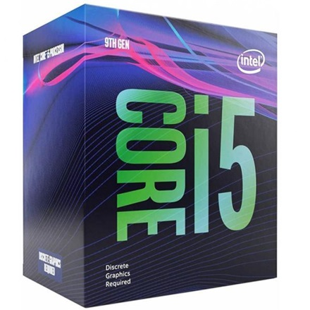 Intel Processzor - Core i5-9400F (2900Mhz 9MBL3 Cache 14nm 65W skt1151 Coffee Lake) BOX No VGA