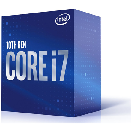 Intel Processzor - Core i7-10700 (2900Mhz 16MBL3 Cache 14nm 65W skt1200 Comet Lake) BOX