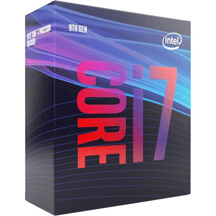 Intel Processzor - Core i7-9700 (3000Mhz 12MBL3 Cache 14nm 65W skt1151 Coffee Lake) BOX
