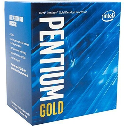 Intel Processzor - Dual Core G5400 (3700MHz 4MBL3 Cache 14nm 54W skt1151 Coffee Lake) BOX