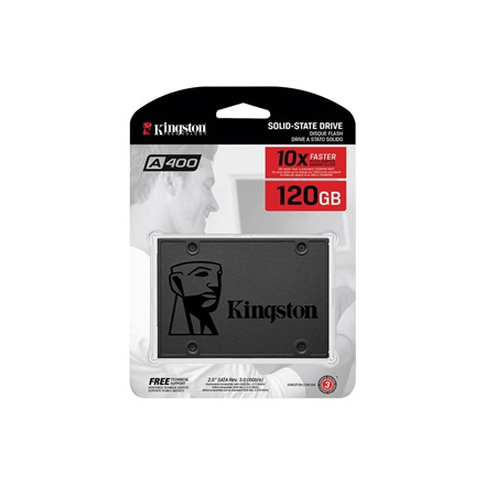 Kingston SSD 480GB - SA400S37/480G (A400 Series, SATA3) (R/W:500/450MB/s)