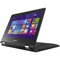 "LENOVO IdeaPad YOGA, 11,6"" TOUCH HD, N3050, 2GB, 64GB, Intel HD, DVDSM, 2cell, BT, WIN10, Fekete"