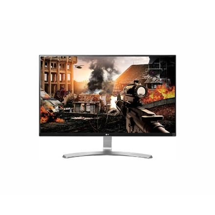 "LG Monitor 27"" - 27UD68-W (IPS; 16:9; 4K 3840x2160; 5ms; 5M:1; 300cd; 2xHDMI; DP)"