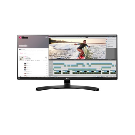 "LG Monitor 34"" - 34UM88-P (IPS; 21:9; QHD 3440x1440; 5ms; 300cd; HDMIx2; DP; TBx2, USB, Mag áll.; Speaker)"