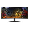 "LG Monitor 34"" Gamer - 34UC89G-B (IPS; Ívelt; 21:9; 2560x1080; 5ms; 300cd; 144Hz; sRGB; HDMI; DP; USB; G-Sync; Mag.áll.)"