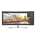 "LG Monitor 38"" - 38UC99-W (IPS; Ívelt; FreeSync; 21:9; QHD+ 3840x1600; 5ms; 300cd; sRGB(99%); HDMI; DP; USB3; Spk; Mag.)"