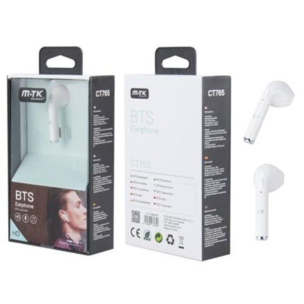 MOVETECK Fülhallgató Bluetooth - Sztereo vezetéknélküli fülhallgató  mikrofonnal aa95262c55