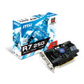 MSI PCI-E AMD R7 250 2GD3 OCV1