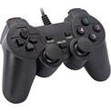 Marvo Gamepad - GT-006 (USB, 1,5m kábel, Vibration, PC kompatibilis, fekete)