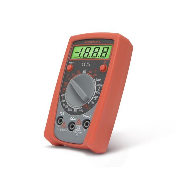 Maxwell digitális multiméter, kompakt (25103)