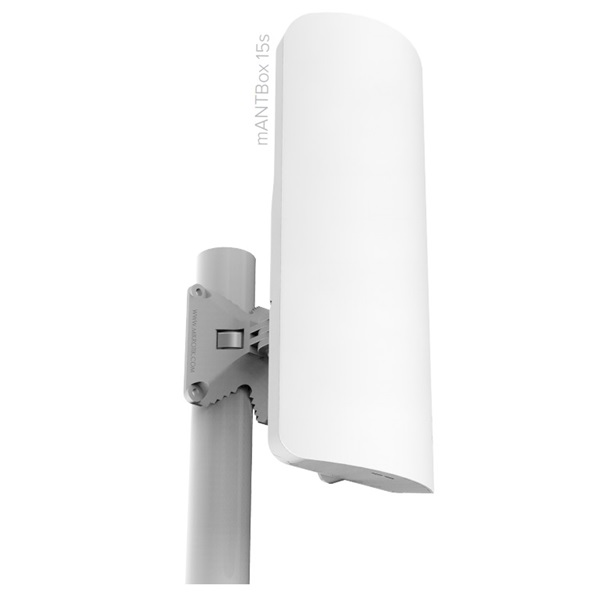 Mikrotik (RB921GS-5HPacD-15S) mANTBox 15s kültéri szektor antenna és router, 1xGbit LAN, 1x SFP, PoE