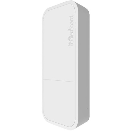 Mikrotik (RBWAPG-5HAC) wAP ac Access Point, kültéri, 1x gigabit, 2,4/5GHz wireless-b/g/n/ac, PoE