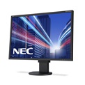 "NEC Monitor 22"" - MultiSync EA223WM Black (TN; 16:10; 1680x1050; 5ms; 250cd; Dsub, DVI, DP, spkr., pivot)"