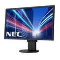 "NEC Monitor 24"" - MultiSync EA244WMi Black (IPS; 16:10; 1920x1200; 6ms; 350cd; Dsub, DVI, DP, HDMI, spkr., pivot)"
