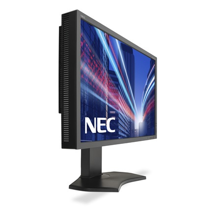 "NEC Monitor 27"" - MultiSync PA272W-SV2 Fekete (IPS 16:9 2560x1440; 16ms; 340cd; DVI, DP, mDP, HDMI, Pivot, AdobeRGB99,3%"