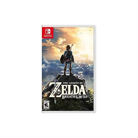 NINTENDO Switch Videójáték - The Legend of Zelda: Breath of the Wild