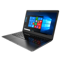 "NJOY Aerial Black (13.3"" FHD IPS, Intel N3350, 4 GB, 32 GB, Intel HD500, 9000mAh, fekete, angol bill, fém, Win10 Home)"