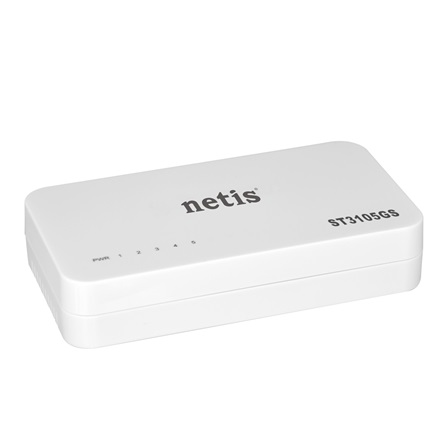 Netis ST3105GS Switch (10/100/1000Mbps, 5 port)