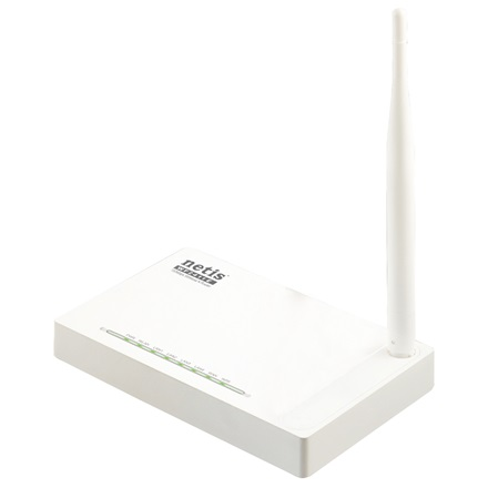 Netis Router WiFi N150 - WF2411E (150Mbps, 2,4GHz, 4port 10/100Mbps, fix 5dBi antenna)