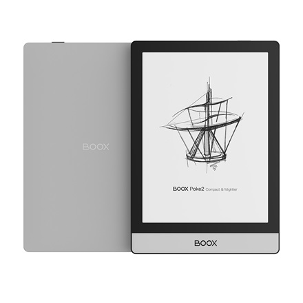 "Onyx BOOX e-book  6"" - Poke 2 (HD E-ink Carta, 1448x1072; 2GHz Octa, 2GB / 32GB, WiFi; BT4.1; 1500mAh; A9.0, mikrofon)"