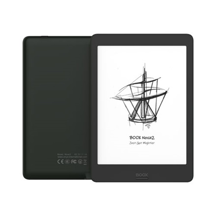 "Onyx BOOX e-book  7,8"" - Nova 2 (HD E-ink Carta, 1872x1404; 2GHz Octa, 3GB/32GB, WiFi; BT4.1; 3150mAh; A9.0; Wacom)"