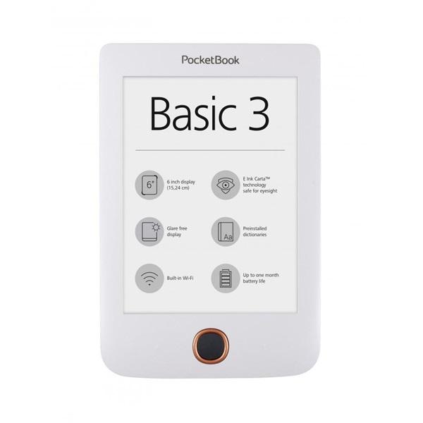 POCKETBOOK PB614 BASIC3 Fehér (6