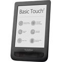 "POCKETBOOK e-Reader - PB625 Touch2 Fekete (6"" E-Ink, Multi touch, Cpu: 1GHz, 256MB, 8GB, 1300mAh, wifi, mUSB, mSD) + tok"