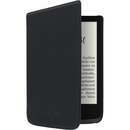 "POCKETBOOK e-book tok -  PocketBook Shell 6"" (Touch HD 3, Touch Lux 4, Basic Lux 2) Fekete csíkos"