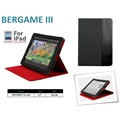 "PORT Tablet portfolió 9,7"" (201198) Bergame III Black/red (iPad ll & New iPad)"