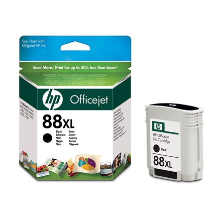 HP C9396AE No.88 XL BK 58.9ml 2400 oldal